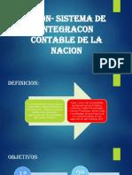 Sicon- Sistema de Integracon Contable de La Nacion