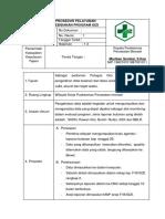 Standar Operasional Prosedur Program Gizi