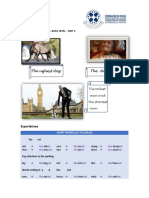 Grammar Guide Basic Unit4 Superlatives