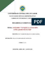 Ca9-4_melissa Chalan_análisis Lo Que La Aviación Civil Quiso Ocultar