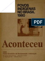 Aconteceu Especial (número 6) - Povos Indígenas no Brasil 1980