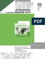 Relatório do Comitê de Peritos da OIT 2018