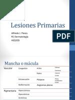 Lesiones Primarias Dermatología