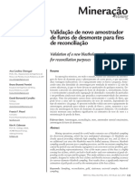 Revista - Validation of a new blasthole sampler for reconciliation purposes.pdf