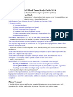 EEB 162 Final Study Guide