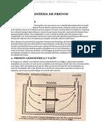 Manual Sistema Frenos Presion Atmosferica Vacio Funcionamiento Componentes Servofreno Drivac Bendix
