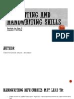 Pre hand writing