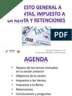 09_2 IGV , Impuesto a La Renta y Retenciones