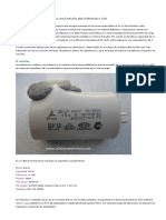 Autopsia de Un Capacitor