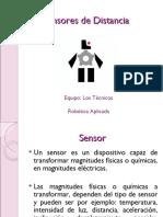 Sensores de Distancia o Desplazamiento
