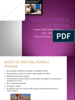 Trabajo Pueblo Aymara