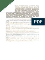 El Perfil Del Instrumentista en Instrumentación en El Area de Educacion Nailet