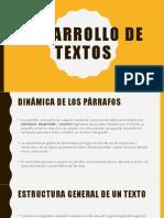 Desarrollo de Textos