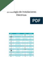 Simbología de Instalaciones Eléctricas