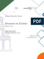 Elementos de Euclides, Libros v y VI