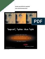 Dupont LuxPrint EL Processing Guide.en.Es