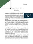 Milton Friedman - El Verdadero Almuerzo Gratis, Los Mercados y la Propiedad Privada.pdf