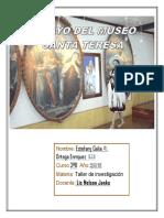 Ensayo de Santa Teresa