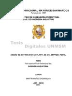 Diseño de una distribución de planta - UNMSM.pdf