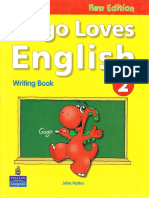 Gogo Loves English 2 Writing  book