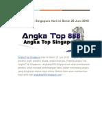 Angka Top Singapura Hari Ini Senin 25 Juni 2018_2