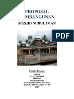 Proposal Masjid Nurul Iman