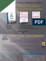 Metodología Del Censo Nacional 2017