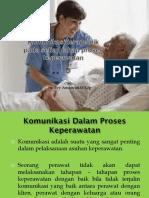 6. Komunikasi Terapeutik Pada Tahap Proses Keperawatan