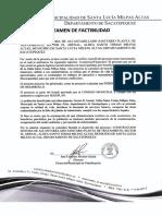 Factibilidad Planta El Arenal