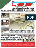 Periódico Lea Lunes 25 de Junio Del 2018