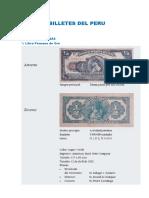 Billetes Del Peru