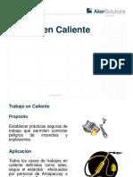 15Trabajos en Caliente.2009