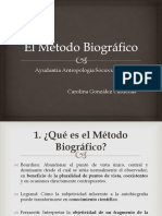 El Metodo Biografico
