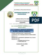 Informe de Estacion Metereologica