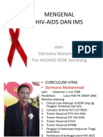 Mengenal Ims, Hiv-Aids Lapas