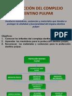 Protección Del Complejo Dentino Pulpar