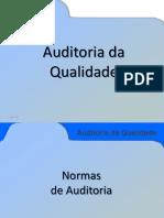 Curso Auditoria Da Qualidade