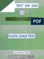 load test on soil