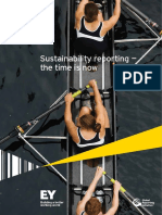 EY Sustainability Reporting the Time is Now