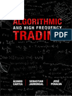 Algorithmic and High-frequency Trading