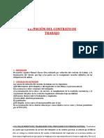 8) Extincion Del Contrato de Trabajo