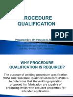 Procedure Qualification