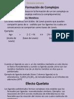 Analisis Quimico - Doceava Semana