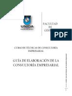 Curso de Técnicas de Consultoría Empresarial