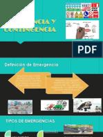 Exposicion Plan de Emergencia y Contingencia 2018