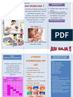 Leaflet ASI Eksklusif MPASI