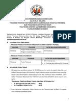 1012_panduan Sipenmaru Jalur Alih Jenjang Dan Profesi Fisioterapi Tahun 2018