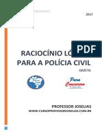 Raciocínio Lógico Para a Polícia Civil - PDF