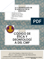 Código de Ética Del CMP