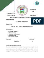 6.Método de La Secante Grupo 6 Informe
